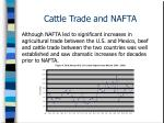 cattle trade and nafta