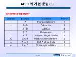 abel 3