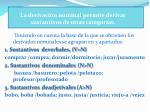 la derivaci n nominal permite derivar sustantivos de otras categor as