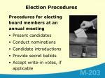 election procedures2
