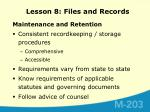lesson 8 files and records6