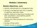 module 1 summary2