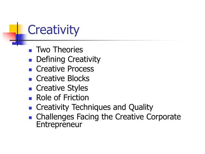 creativity n.
