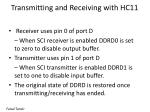 transmitting and receiving with hc11