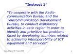 instruct 1