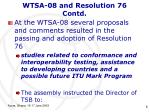 wtsa 08 and resolution 76 contd1