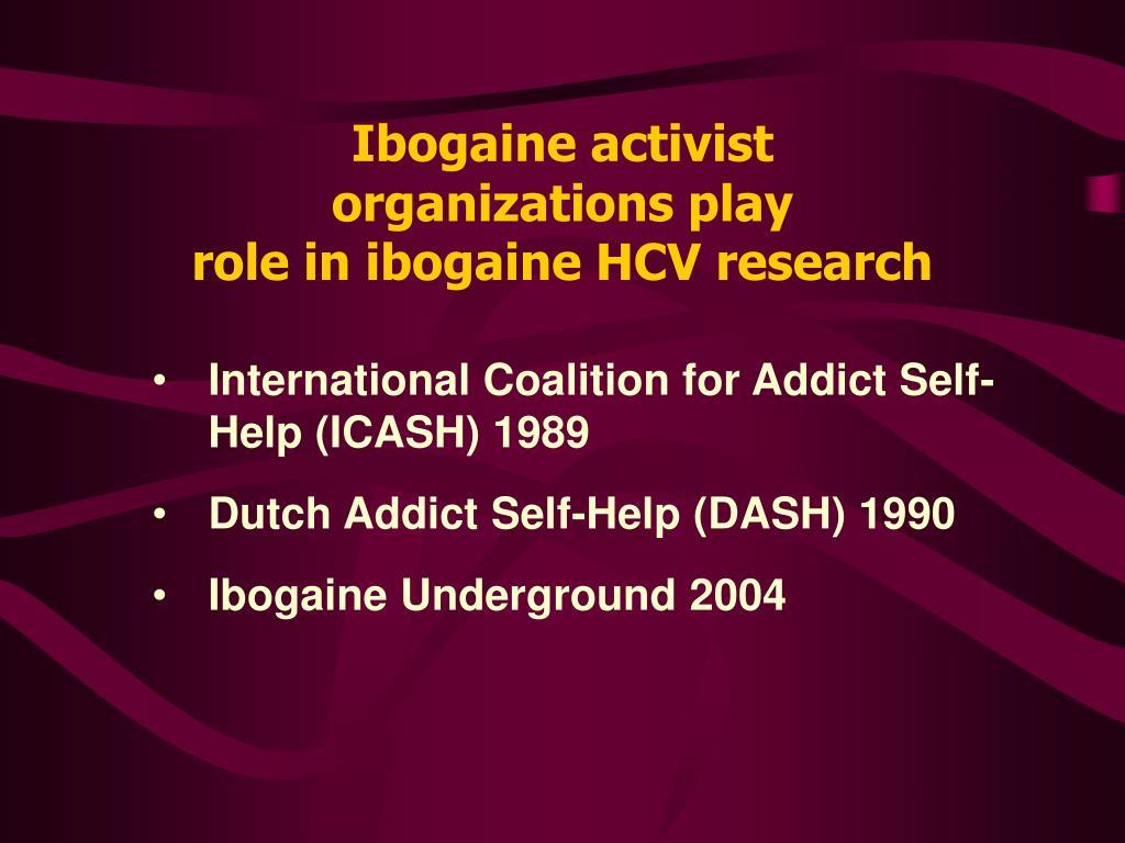 Ibogaine activist