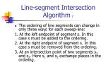 line segment intersection algorithm 7