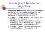 line segment intersection algorithm 9