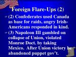 foreign flare ups 2