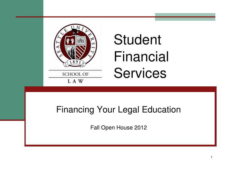 student financial services n.