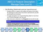 abs 2 0 feature description manage data cont d5