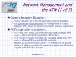 network management and the atn 1 of 3