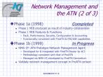 network management and the atn 2 of 3