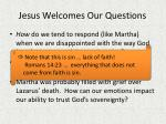 jesus welcomes our questions1