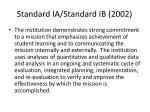 standard ia standard ib 2002