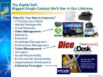 the digital self biggest single catalyst we ll see in our lifetimes
