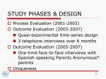 study phases design