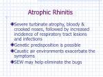 atrophic rhinitis33