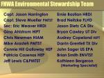 fhwa environmental stewardship team