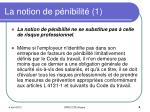 la notion de p nibilit 1