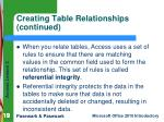 creating table relationships continued1