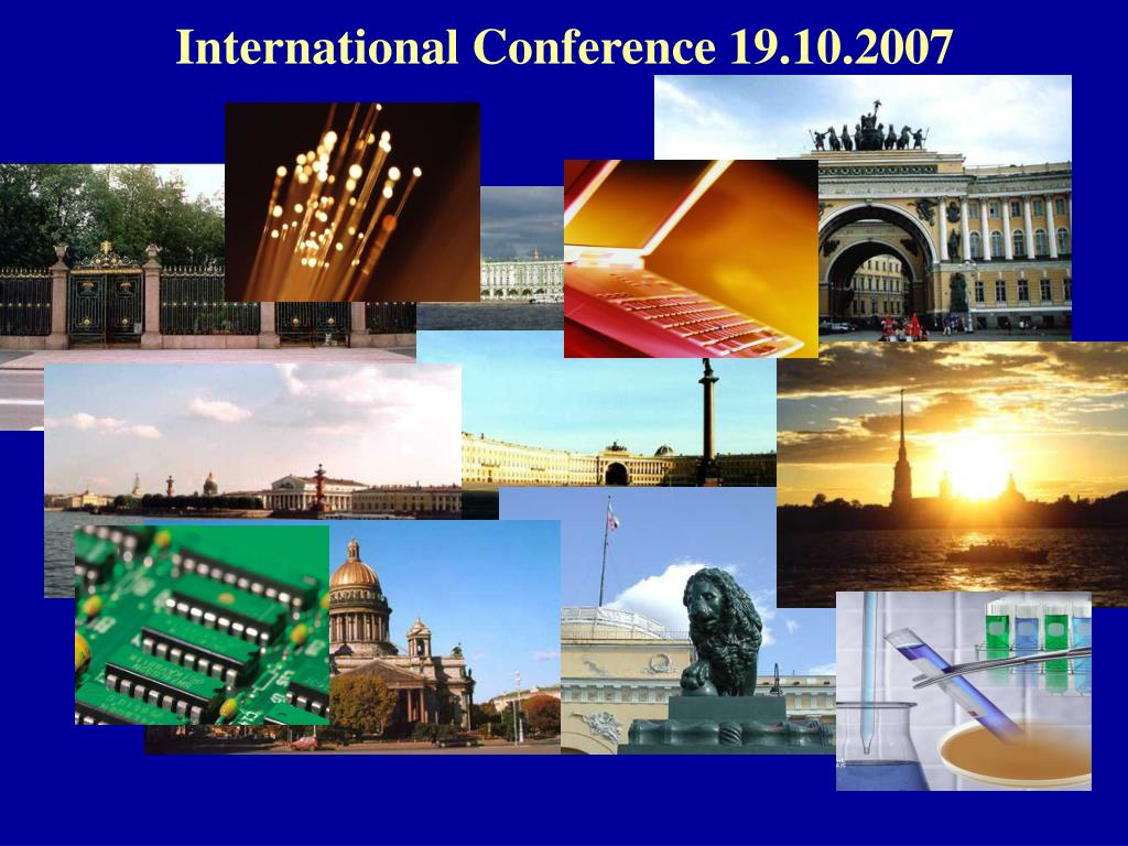 International Conference 19.10.2007