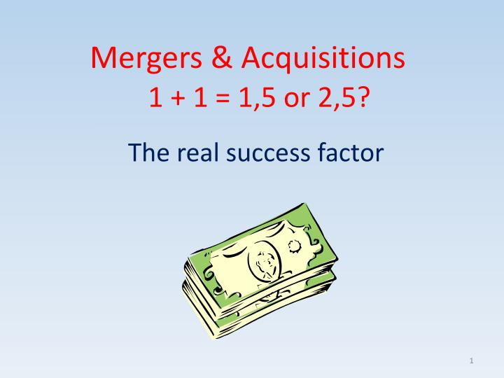 mergers acquisitions n.
