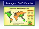 acreage of gmo varieties1