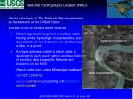 national hydrography dataset nhd