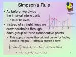 simpson s rule