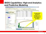 ibids capabilities high end analytics and predictive modeling