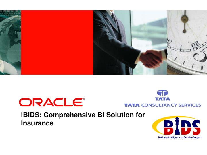 ibids comprehensive bi solution for insurance n.