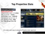 top properties stats8