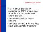 100 smoke free policies