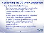 conducting the og oral competition26