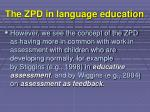 the zpd in language education