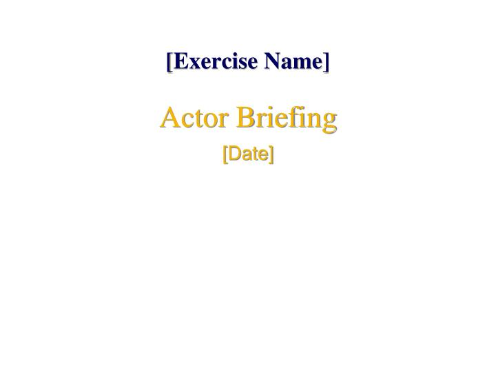 exercise name n.