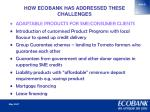 how ecobank has addressed these challenges2