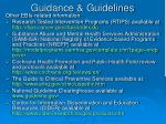 guidance guidelines1