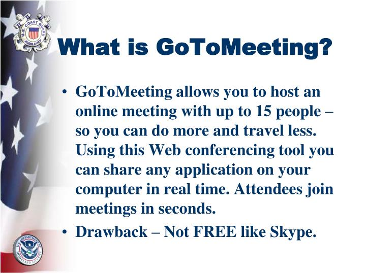 What is gotomeeting