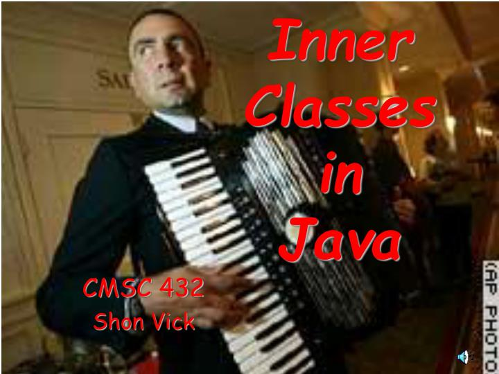 inner classes in java n.