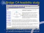 bridge ca feasibility study