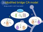 modified bridge ca model
