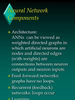 neural network components