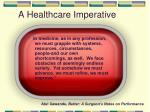 a healthcare imperative