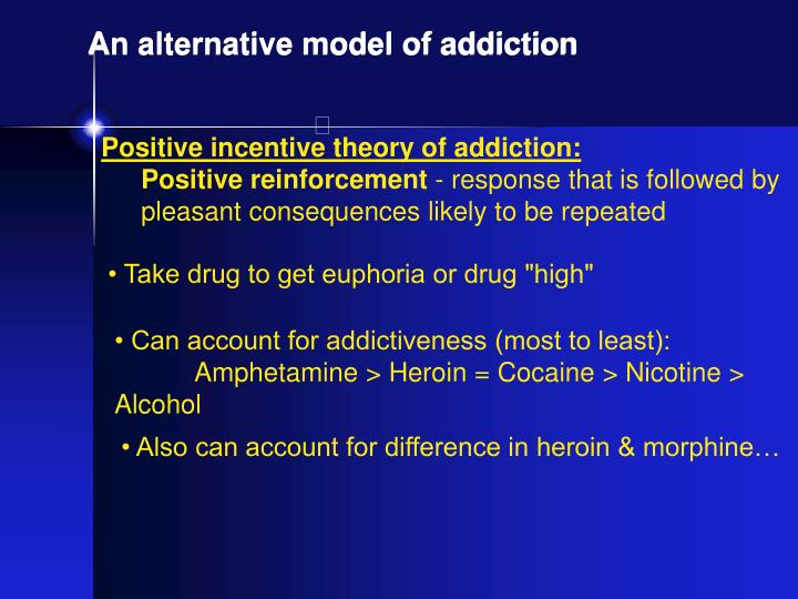 theories of the etiology of addiction By understanding the causes of addiction, we can help someone recover from addiction by developing and testing these models this leads to effective treatments given the lack of certainty about what causes addiction, controversies emerge.