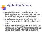 application servers15