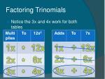 factoring trinomials14