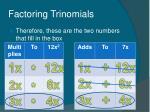 factoring trinomials15